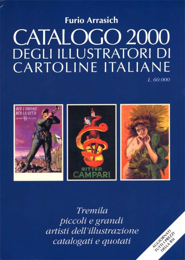 2000 Catalog of Postcard Artists