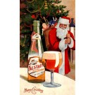 Advert Falstaff Beer Santa Claus