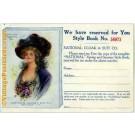 1910 Fashion Catalog Advertisement
