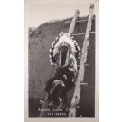 NEW MEXICO Apache Indian Chief RPPC