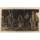 Worker with Hammer on Anvil RPPC