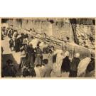 Jerusalem Jews at the Wailing Wall