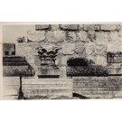 Palestine Synagogue Wall Designs RPPC