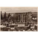 Palestine Synagogue Wall Columns RPPC