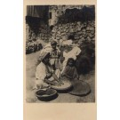Palestine Israel Mother Daughter RPPC