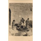 Palestine Israel Family by House RPPC