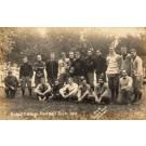 WISCONSIN Beloit College Football Team 1910