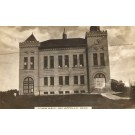 Canada Qu'Appelle Town Hall Real Photo