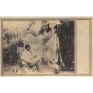 Venezuela Fisherman Weaving Net RPPC