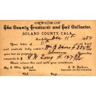 CALIFORNIA Solano County Tax Collector Postal