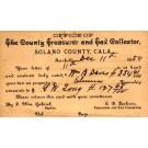 CALIFORNIA Solano County Tax Collector Postal