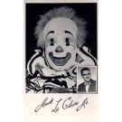 Circus Clown Claire Real Photo
