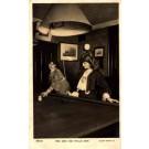 Actress Zena Dare with Cue Billiards Sports RPPC