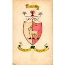 Coat of Arms UK Duke Goat Hand-Drawn