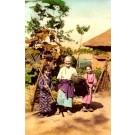 Japanese Grandmother Girls
