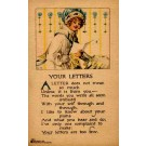 Lady Reading Letter Volland Poem
