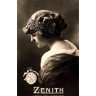Glamour Lady Holding Zenith Watch RP