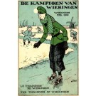 Holland Advert Ice Skater Champion