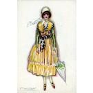 Italian Art Deco Glamour Woman #2