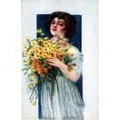 Italian Art Deco Glamour Woman #4