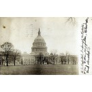 U.S. Capitol Building Real Photo