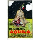 Italian Rain Coat Advertisement