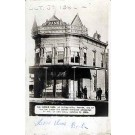 Kansas Bank Robbed by Outlaws Real Photo