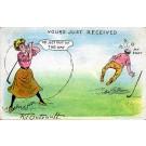 Outcault Golf Comic