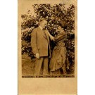 President & Mrs. Cooidge Real Photo