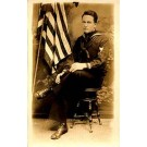 World War I Sailor Real Photo
