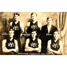 YMCA Basketball Team Real Photo