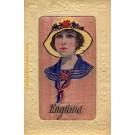 Art Nouveau Woven Silk