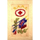 RAMC Embroidered Silk
