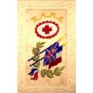RAMC Embroidered Silk