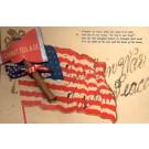 Attached Ax Patriotic Flag Poem