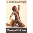 Boy with Flag Spanish Revolution
