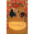 Punch and Judy Puppet Novelty Mechanical