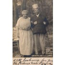 Lake Keuka Cross-Dressed Couple Real Photo