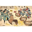 Russo-Japanese War Throwing Eggs