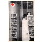 Doctor by Cabinet with Blood Bank Japanese