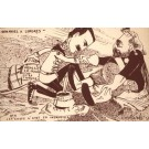 King Edward VII & King Emmanuel Satire