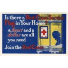 Call to Join Red Cross Old Woman