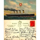 Ocean Liner Olympic Postally Used on Board