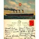Ocean Liner Olympic Postally Used on Board
