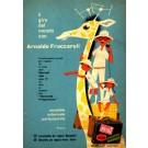 Advert Radio Giraffe Family