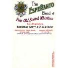 Advertising Scotch Whiskey Esperanto