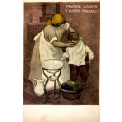 Anti-Tuberculosis Mother Washing Child's Face