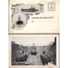 US Battleships Great White Fleet Folder