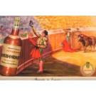 Toreador Greeting Audience Bull Advert Brandy