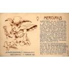 Mercury as Fleet Jew with Money Zodiac